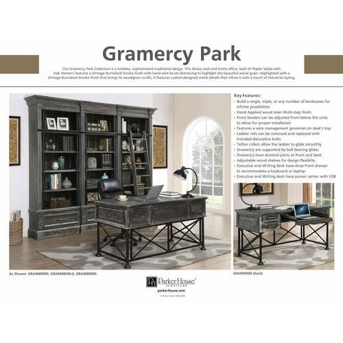GRAMERCY PARK Executive Left Desk Pedestal