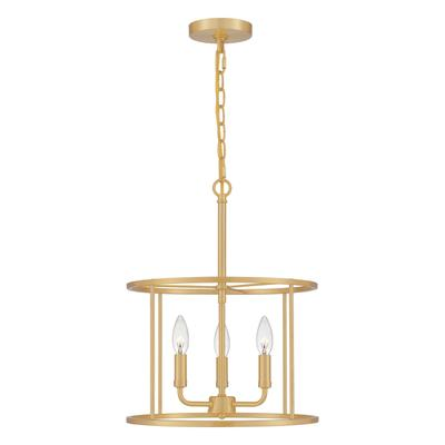 See Details - Abner Pendant in Aged Brass