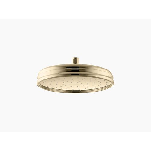 "Vibrant French Gold 10"" Rainhead With Katalyst Air-induction Technology, 2.5 Gpm"