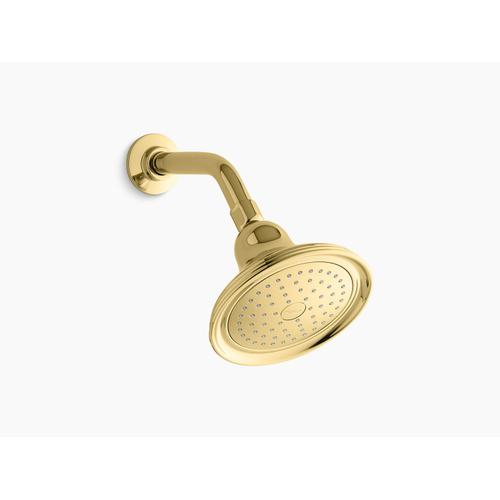 Kohler - Vibrant Polished Brass 2.5 Gpm Single-function Showerhead With Katalyst Air-induction Technology