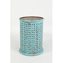 Global Archive Drum Table - Turquoise