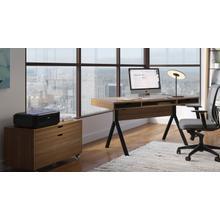 See Details - Modica 6341 Desk in Natural Walnut