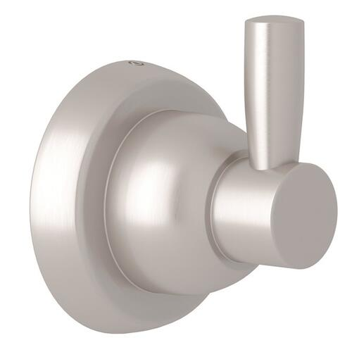 Satin Nickel Perrin & Rowe Holborn Wall Mount Single Robe Hook