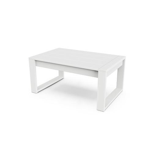 White EDGE Coffee Table
