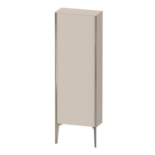 Duravit - Semi-tall Cabinet Floorstanding, Taupe Matte (decor)