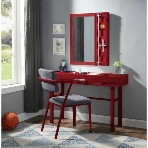 ACME Cargo Vanity Desk - 35953 - Red