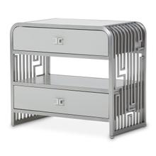 See Details - Metal Accent Cabinet-night Stand-end Table