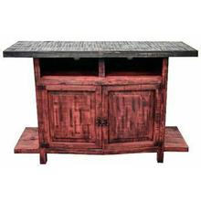 See Details - Red TV Stand