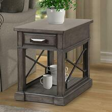 SUNDANCE - SMOKEY GREY Chairside Table
