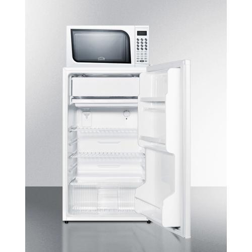 Microwave/refrigerator-freezer Combination
