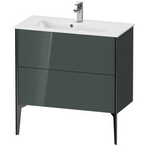 Vanity Unit Floorstanding Compact, Dolomiti Gray High Gloss (lacquer)
