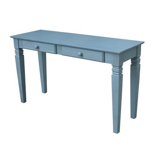 John Thomas Furniture - Java Table in Ocean Blue