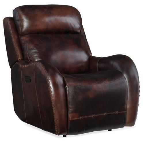 Hooker Furniture - Chambers Power Recliner w/ Power Headrest