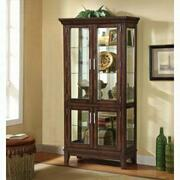 ACME Jaxon Curio Cabinet - 90172 - Cherry Product Image