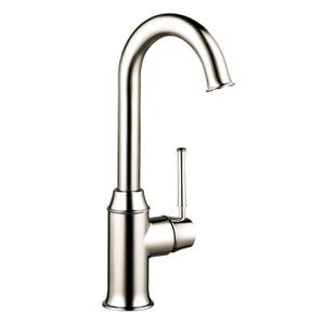 Polished Nickel Bar Faucet, 1.5 GPM