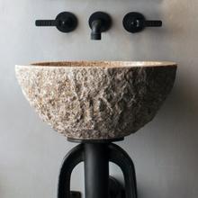See Details - Oval Sink Beige Granite