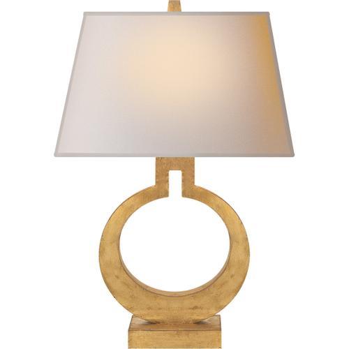 Visual Comfort - E. F. Chapman Ring 21 inch 75.00 watt Gilded Finish Decorative Table Lamp Portable Light