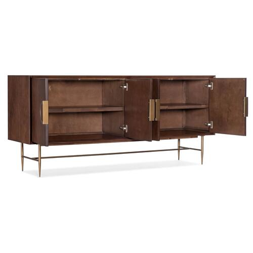 Home Entertainment 68in Moon Sideboard