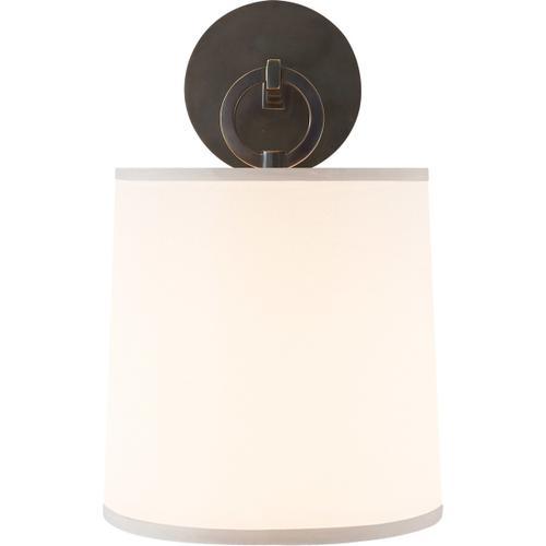 Barbara Barry French Cuff 1 Light 8 inch Bronze Decorative Wall Light