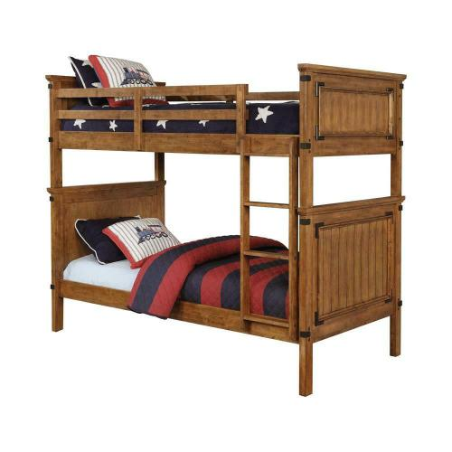 CLEARANCE Coronado Rustic Honey Twin-over-twin Bunk Bed