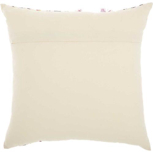 "Life Styles Ns895 Cream 18"" X 18"" Throw Pillow"