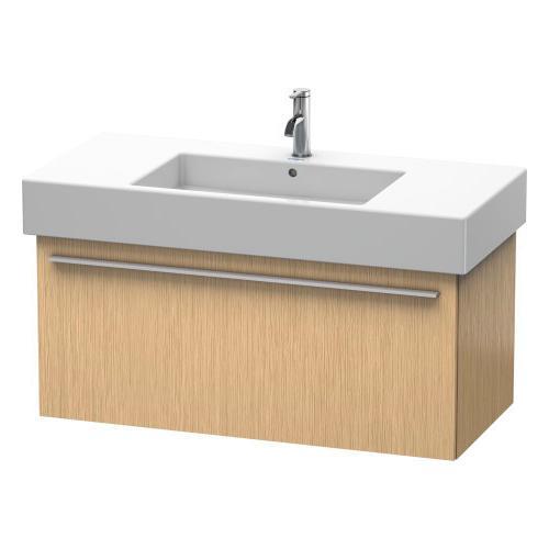 Product Image - Vanity Unit Wall-mounted, Brushed Oak (real Wood Veneer)