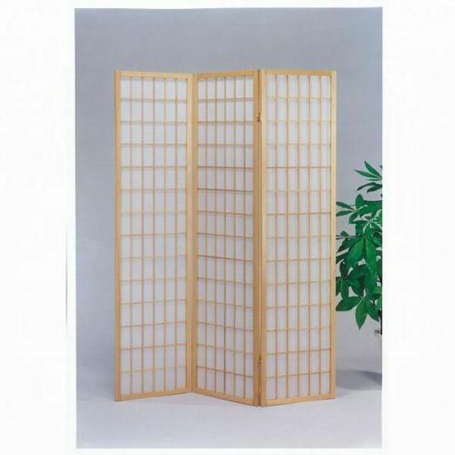 ACME Naomi 3-Panel Room Divider - 02285 - Natural