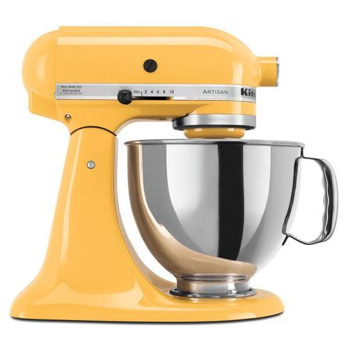 KitchenAid - Artisan® Series 5 Quart Tilt-Head Stand Mixer Orange Sorbet