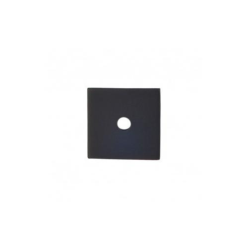 Square Backplate 1 Inch - Flat Black