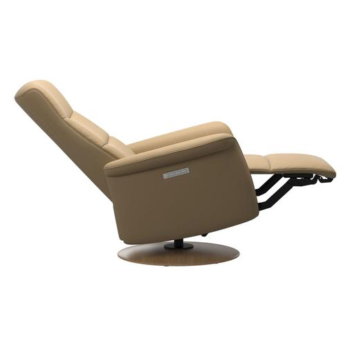 Stressless By Ekornes - Stressless® Mike (M) Power with Moon wood base