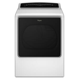 Whirlpool8.8 cu.ft Top Load HE Electric Dryer with Intuitive Touch Controls, Steam Refresh White