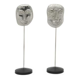 Primitive Masks Nickel Set Of 2