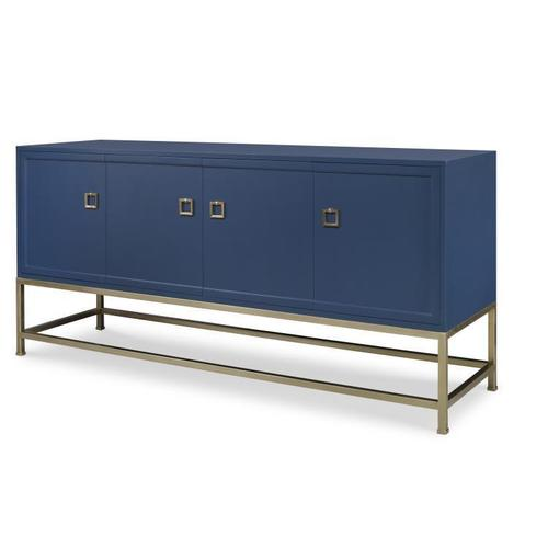 Four Door Tall Media Console