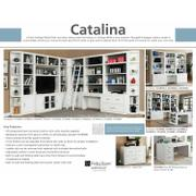 CATALINA 8 piece Library Wall with Writing Desk Product Image