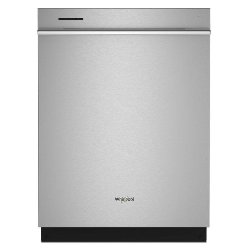 Fingerprint Resistant Quiet Dishwasher with 3rd Rack & Large Capacity
