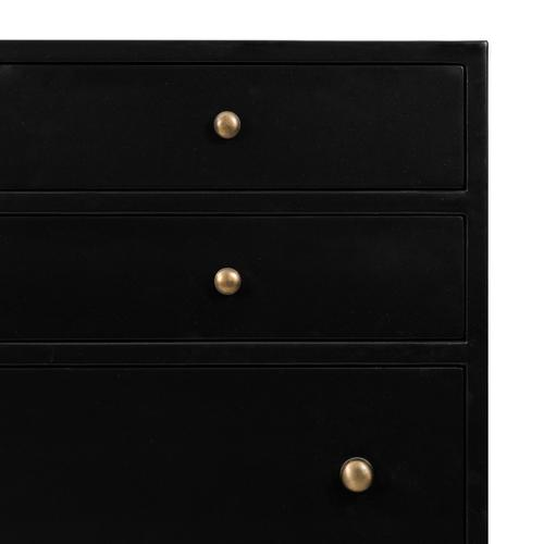 Belmont 8 Drawer Tall Dresser-black
