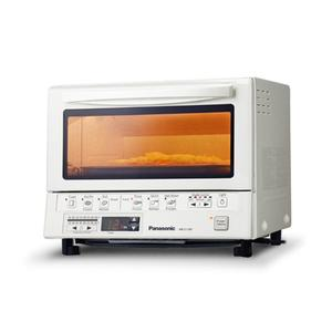 PANASONICFlashXpress Toaster Oven with Double Infrared Heating - White - NB-G110PW