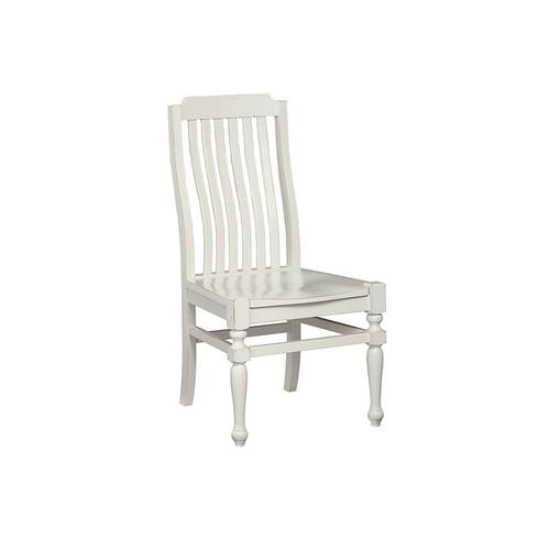 Side Chair - Wooden Seat
