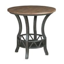 See Details - Trails Pisgah Round Lamp Table
