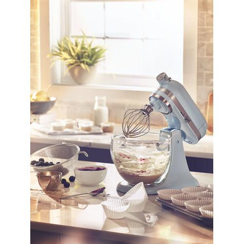 Artisan® Mini Design Series 3.5 Quart Tilt-Head Stand Mixer Sea Shimmer
