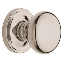 Polished Nickel with Lifetime Finish 5015 Estate Knob