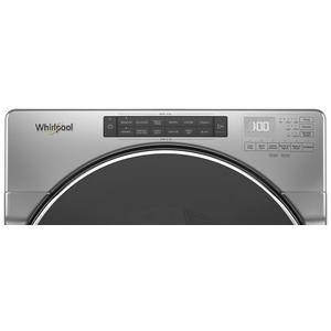 Whirlpool - 7.4 cu. ft. Front Load Electric Dryer with Steam Cycles
