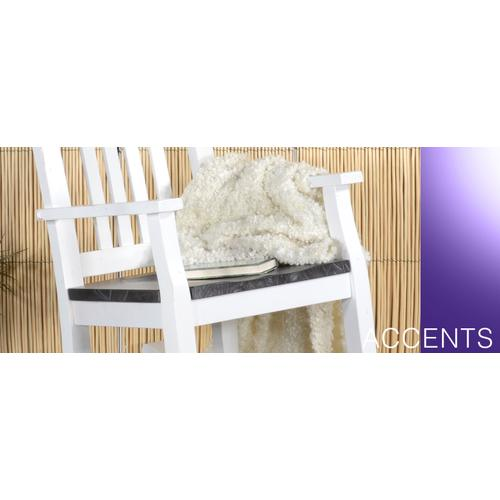 Slatback Rocker w/ Wood Seat-2 Tones