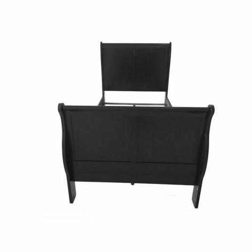 ACME Louis Philippe III Full Bed - 19508F - Black
