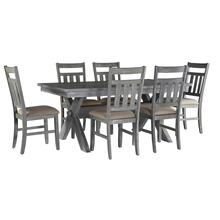 See Details - 7-pc Turino Dining Set - Table & 6 Chairs