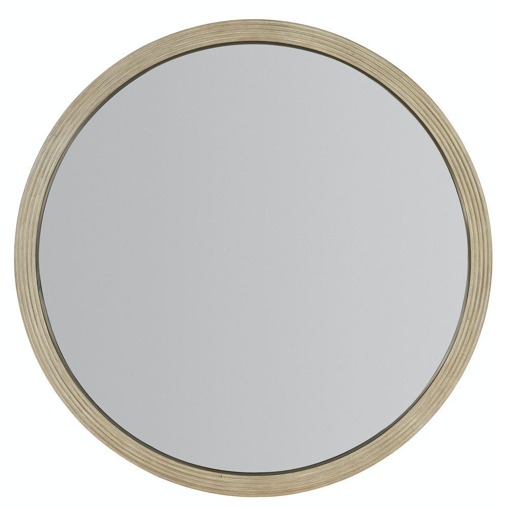 Bedroom Cascade Round Mirror