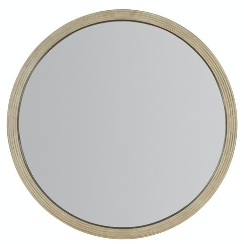Bedroom Cascade Round Mirror