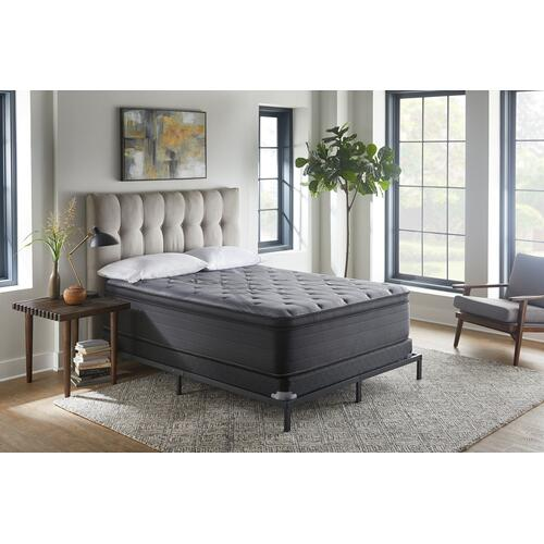 "NightsBridge 13"" Plush Pillow Top Mattress, King"