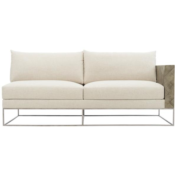 Brooklyn Right Arm Loveseat in Morel