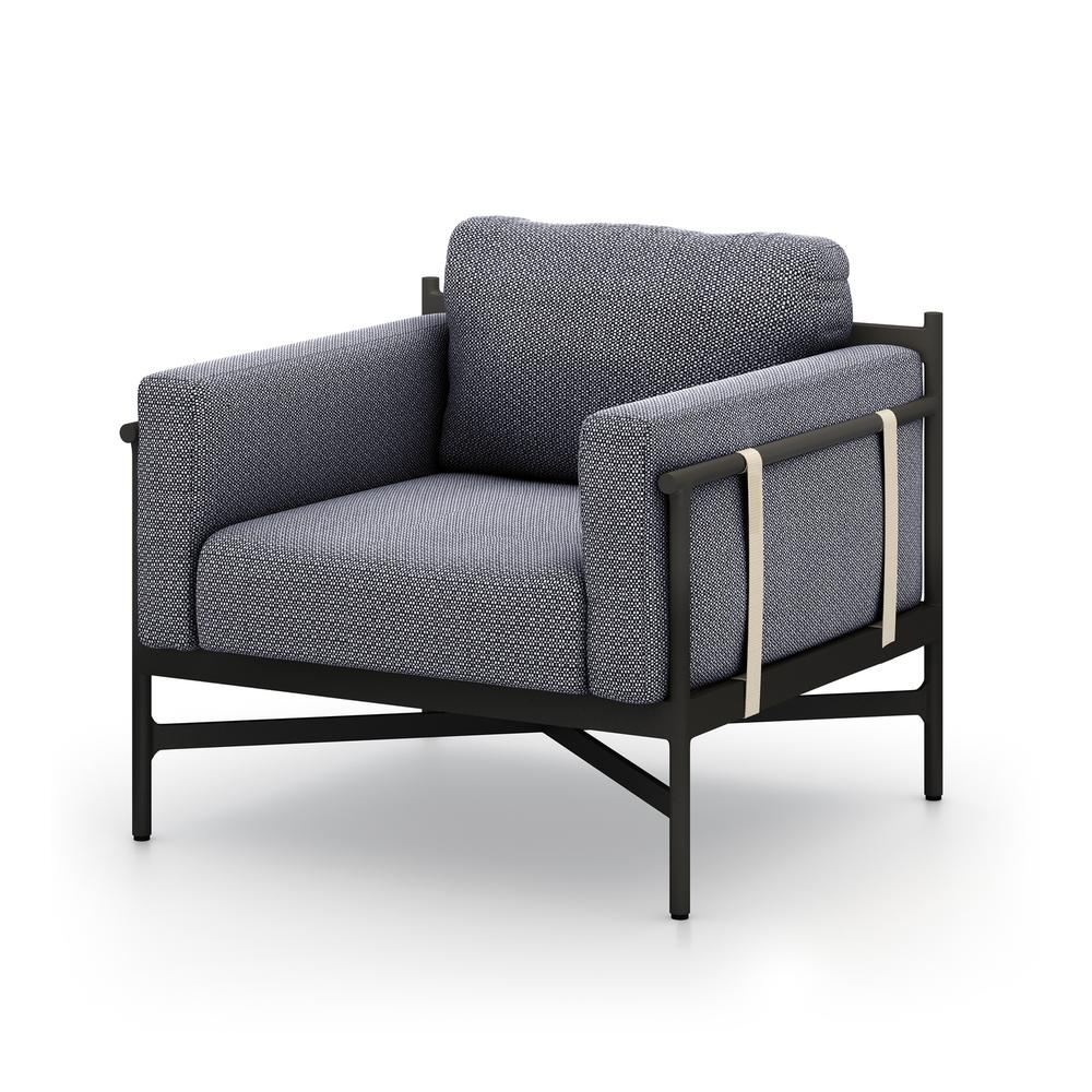 Faye Navy Cover Hearst Outdoor Chair